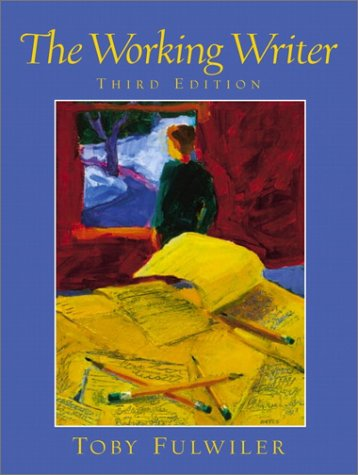 9780130289124: The Working Writer