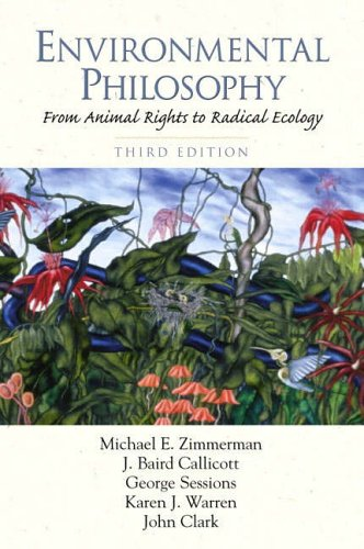 9780130289131: Environmental Philosophy: From Animal Rights to Radical Ecology