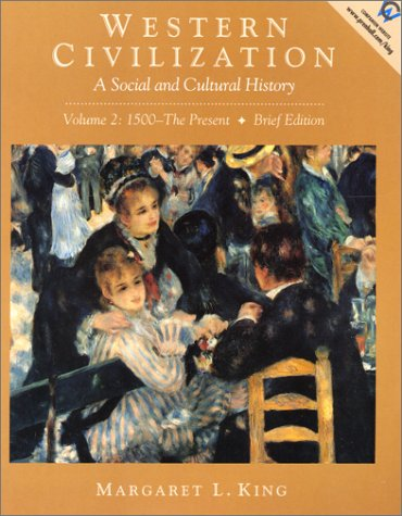 9780130289261: Western Civilization: A Social and Cultural History (Volume II: 1500-The Present, Brief Edition)