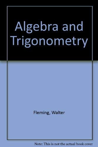 9780130289377: Algebra and Trigonometry: A Problem-Solving Approach Student's Solutions Manual