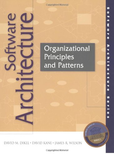 9780130290328: Software Architecture: Organizational Principles and Patterns