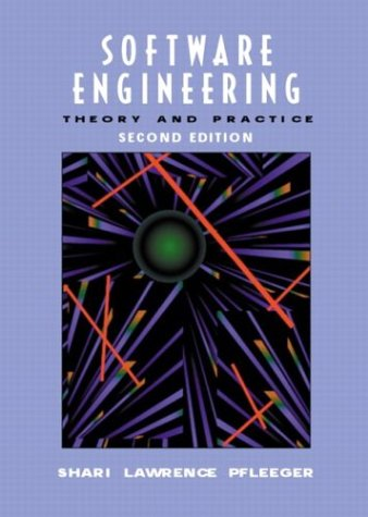 9780130290496: Software Engineering: Theory and Practice (2nd Edition)
