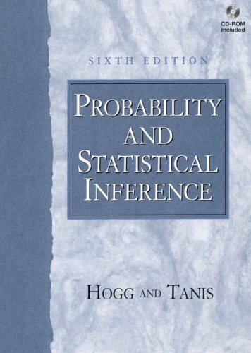9780130291622: Probability and Statistical Inference (International Edition)