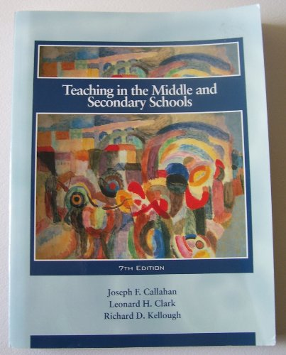 9780130292858: Teaching in the Middle and Secondary Schools