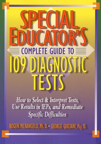 9780130293381: Special Educator's Complete Guide to 109 Diagnostic Tests