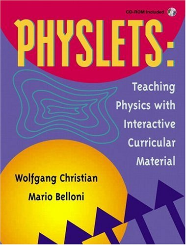 9780130293411: Physlets: Teaching Physics with Interactive Curricular Material