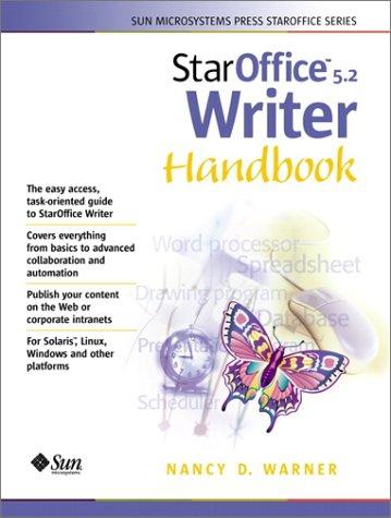 9780130293862: Staroffice 5.2 Writer Handbook (Sun Microsystems Press)