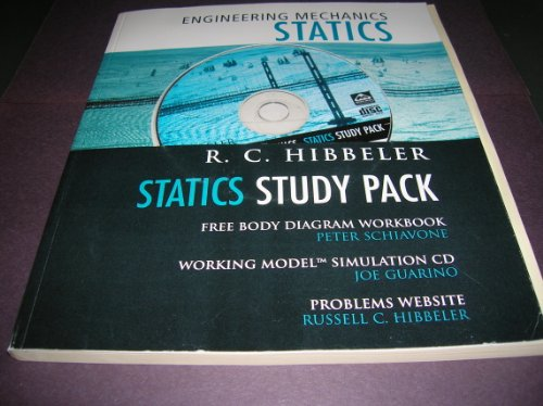 9780130294357: Statics Study Pack-Workbook, CD, Website