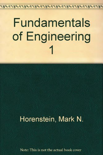 9780130294456: Fundamentals of Engineering 1