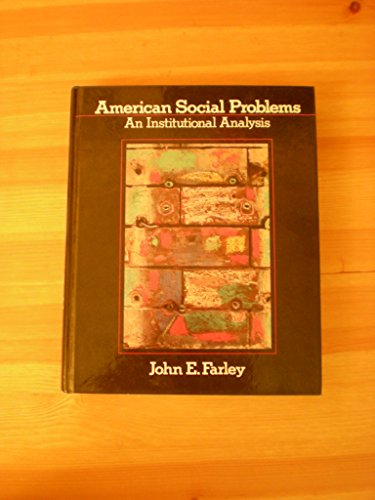 9780130294890: American Social Problems