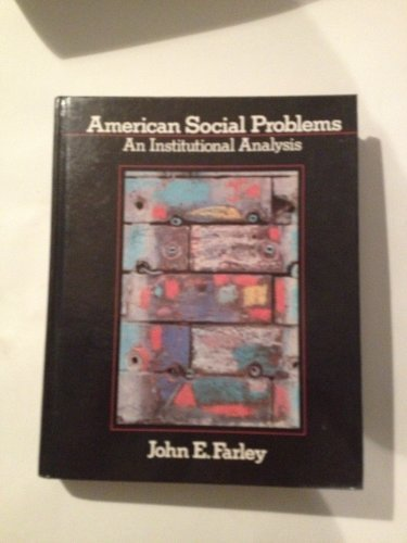9780130294890: American Social Problems