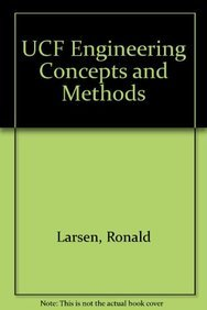 9780130295682: UCF ENGINEERING CONCEPTS AND METHODS