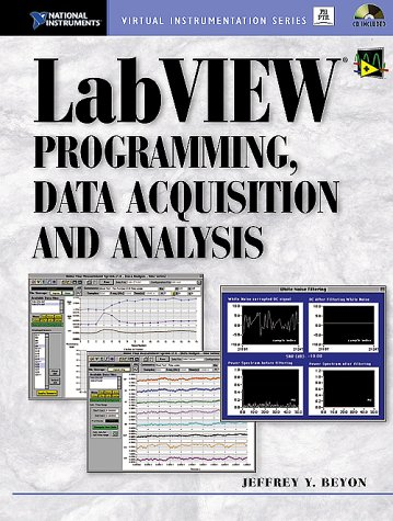 9780130303677: LabVIEW Programming Data Acquisition and Analysis (Virtual Instrumentation)