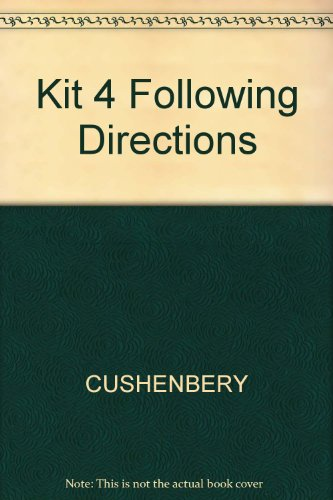 9780130303929: Kit 4 Following Directions