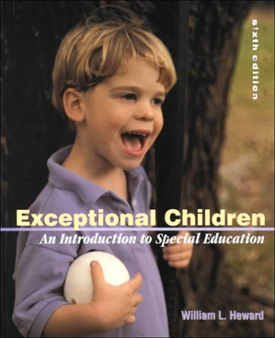 9780130304117: Exceptional Children: An Introduction to Special Education