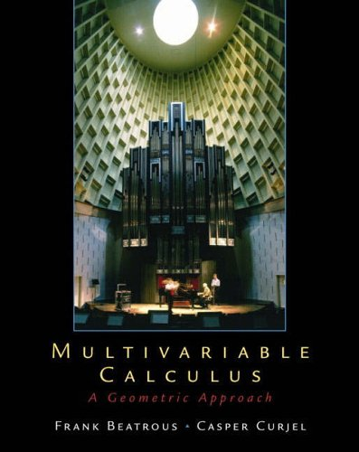 9780130304377: Multivariable Calculus: A Geometric Approach