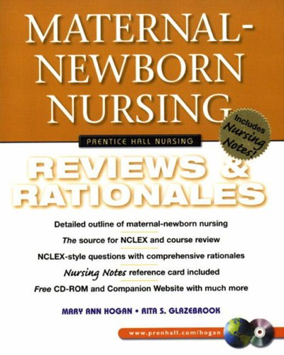 9780130304568: Maternal-Newborn Nursing: Reviews & Rationales