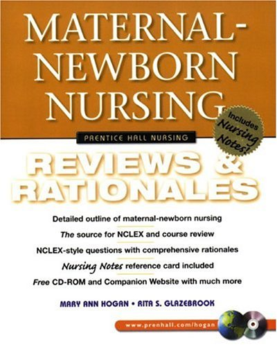 9780130304568: Maternal-Newborn Nursing: Reviews & Rationales