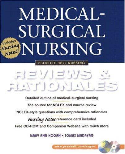 Medical-Surgical Nursing: Reviews Rationales (Prentice Hall Nursing