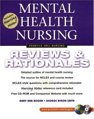 9780130304582: Mental Health Nursing: Reviews & Rationales