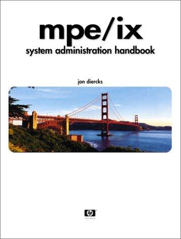 9780130305404: MPE/iX System Administration Handbook