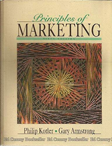 9780130305602: Principles of Marketing (The Prentice Hall Series in Marketing)