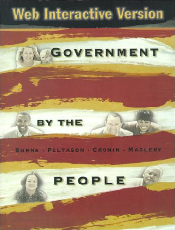 9780130307224: Government by the People-Web Interactive Edition (18th Edition)