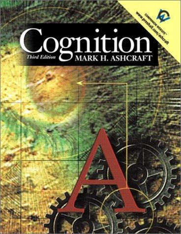 9780130307293: Cognition