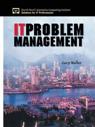 9780130307705: It Problem Management