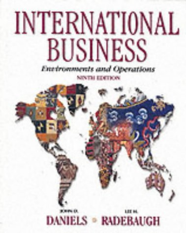 9780130308016: International Business: Environments and Operations