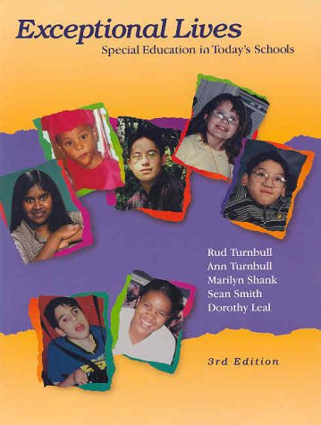 9780130308535: Exceptional Lives: Special Education in Today's Schools (3rd Edition)