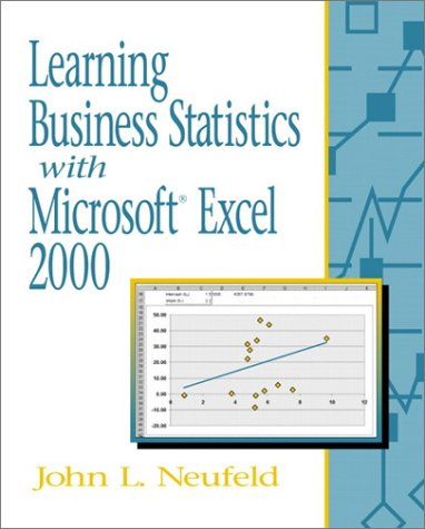 9780130308788: Learning Business Statistics with Microsoft Excel 2000