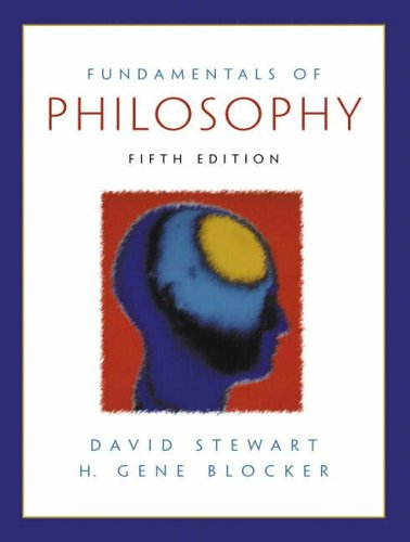 9780130308962: Fundamentals of Philosophy