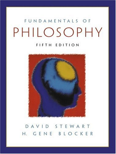9780130308962: Fundamentals of Philosophy (5th Edition)