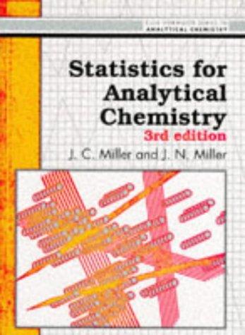 9780130309907: Statistics for Analytical Chemistry (Ellis Horwood Series in Analytical Chemistry)