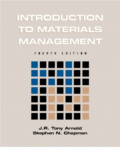 9780130310590: Introduction to Materials Management (International Edition)
