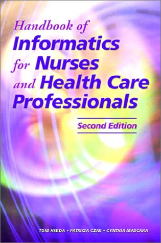 9780130311023: Handbook of Informatics for Nurses and Health Care Professionals