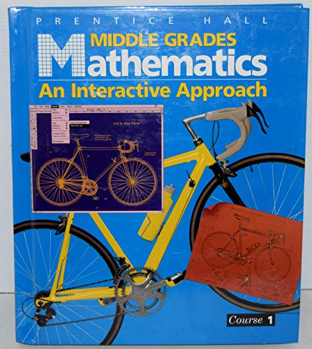 9780130311054: Middle Grades Math Course 1 PE
