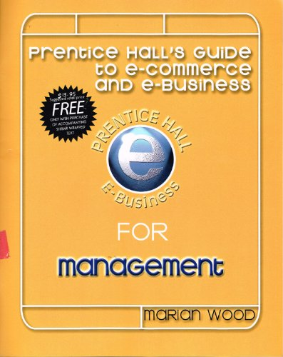 9780130313386: Prentice Hall's guide to e-commerce and e-business for management (Prentice Hall e-business)