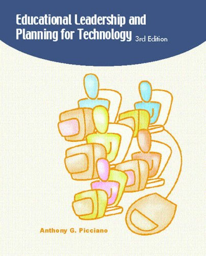 9780130313928: Educational Leadership and Planning for Technology (3rd Edition)