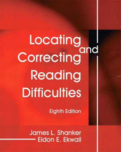9780130313959: Locating and Correcting Reading Difficulties (8th Edition)