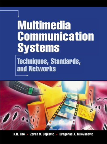 9780130313980: Multimedia Communication Systems: Techniques, Standards and Networks