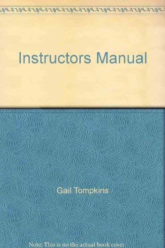9780130314031: Instructors Manual