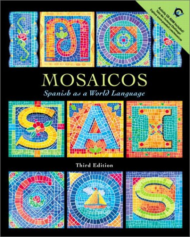 9780130314802: Mosaicos: Spanish as a World Language with CD-ROM (3rd Edition)