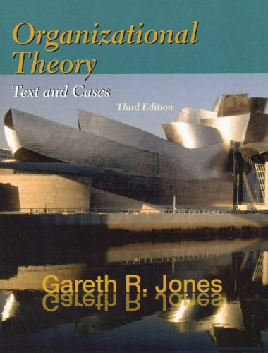 9780130315519: Organizational Theory: Texts and Cases (World Student)