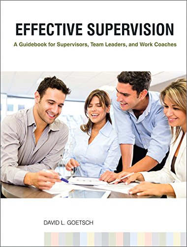9780130315830: Effective Supervision: A Guidebook for Supervisors, Team Leaders, and Work Coaches