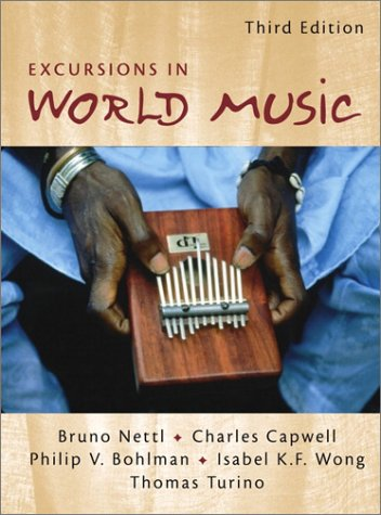 9780130316486: Excursions in World Music (3rd Edition)