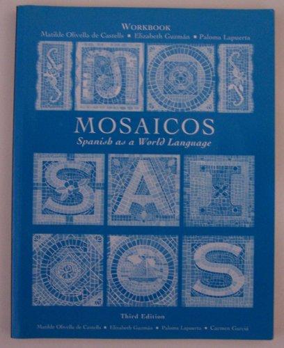 9780130316721: Mosaicos Spanish as a World Language