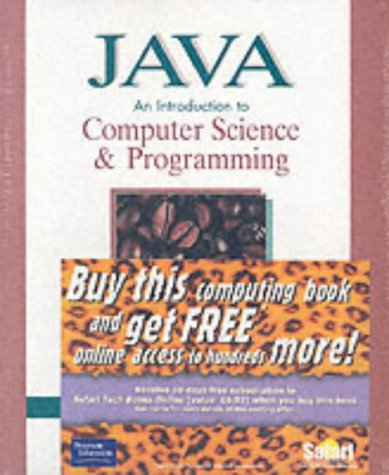 9780130316974: Java: An Introduction to Computer Science and Programming