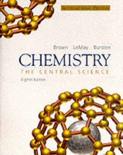 9780130316981: Chemistry: The Central Science:International Edition & Media Companion
